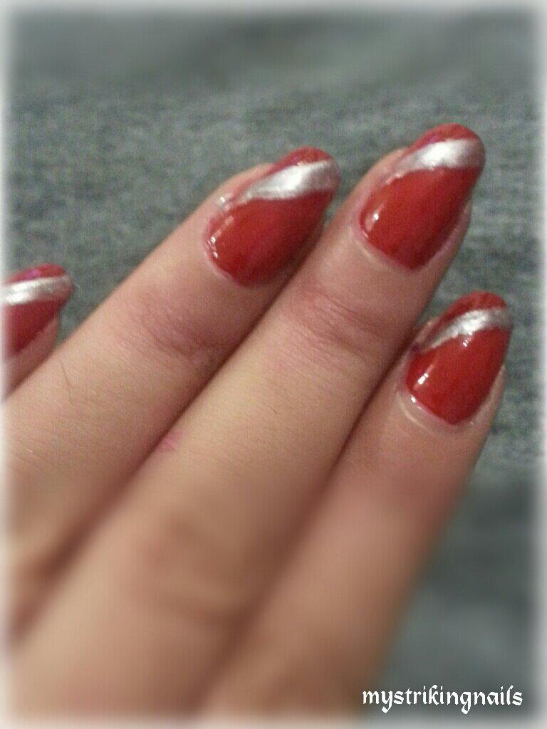 Elegant red nails | ladydeathstriker\'s Blog